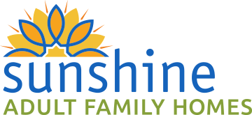 Sunshine Adult Family Homes Logo, Senior Housing in Spokane Valley, WA